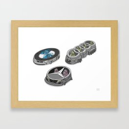 car logos 01 Framed Art Print