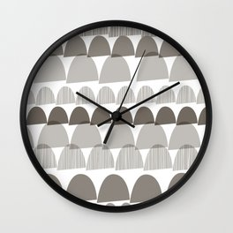 Shroom Wall Clock
