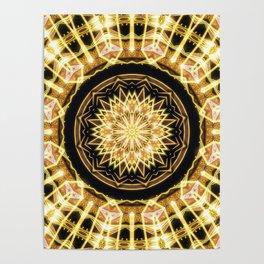 GlaMANDALA | Mandala Glamour Poster