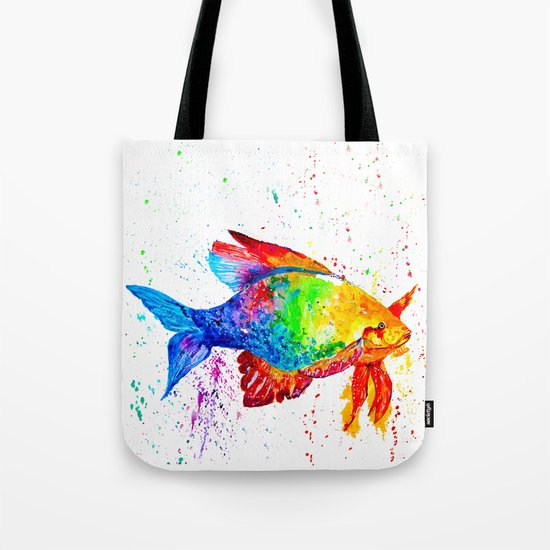 Bright fish Tote Bag