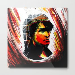 Tsoi is alive (Kino ) Metal Print
