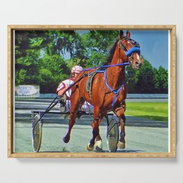 The Backstretch Serving Tray