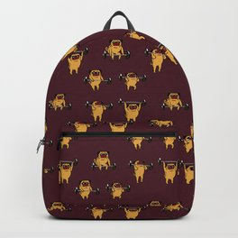 Clean and Jerks Pug Backpack