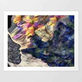 Wizards Breathing Art Print