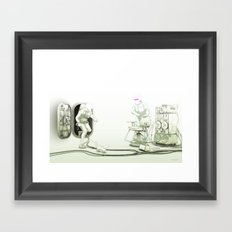 The Passenger: The Meet with Lars Framed Art Print