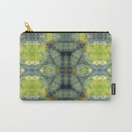 Simone in Blue and Green Carry-All Pouch