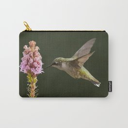 Hummingbird and flower II Carry-All Pouch