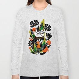 Mossy Cat Long Sleeve T-shirt