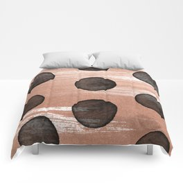 rose gold #2 Comforters