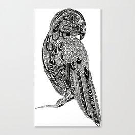 Zentagle Parrot Canvas Print