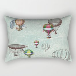Balloon Festival Rectangular Pillow
