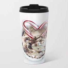 i heart hot chocolate Metal Travel Mug