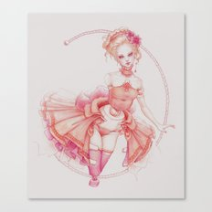 Rococo Ballerina Canvas Print