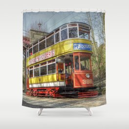 Leeds Tram 399 Shower Curtain