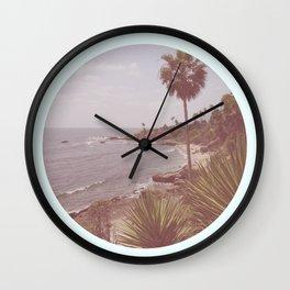 Hipster Paradise Wall Clock