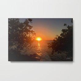 Sunset from the Florida Bank Metal Print