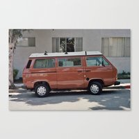 van Canvas Prints featuring Van by Kyle Hurley