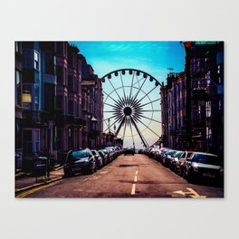 Brighton Wheel Canvas Print
