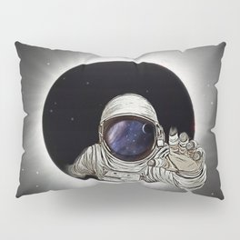 Black Hole Astronaut Pillow Sham