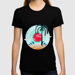 064 - Sunny chic island T-shirt