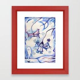Winter Fairy Framed Art Print
