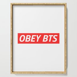 OBEY BTS Serving Tray
