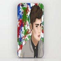 1d iPhone & iPod Skins featuring Zayn 1D by Maranda Rae