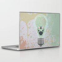 gore Laptop & iPad Skins featuring Think Martian  by Geekleetist