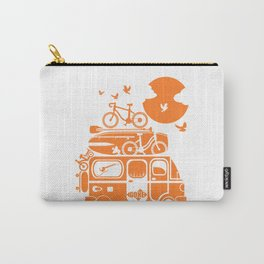 Funny family vacation camper Carry-All Pouch