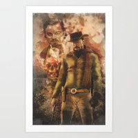 django Art Prints featuring Django by Cullenthecreator
