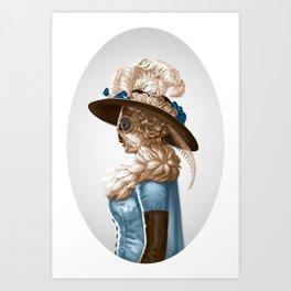 Madam Moth Art Print