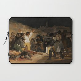 The Third of May by Francisco Goya Laptop Sleeve