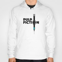 pulp fiction Hoodies featuring Pulp Fiction  by Jacob Wise