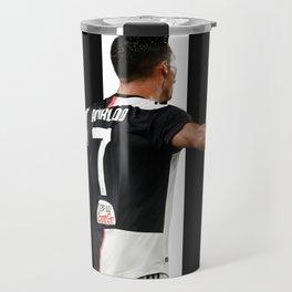 football player Travel Mug