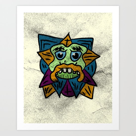 COOL LIL FRIEND Art Print