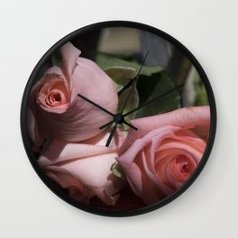 Valentine's Day Roses 25 Wall Clock
