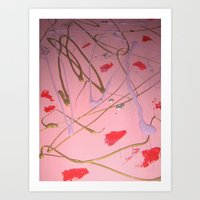 Cherry Blossom created November 5th 2012 original size is 16 x 20'' Art Print