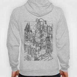 San Francisco! (B&W) Hoody