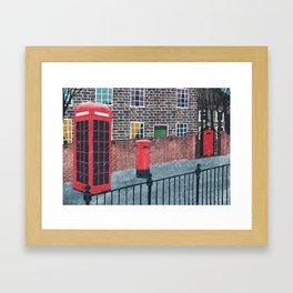London. Framed Art Print