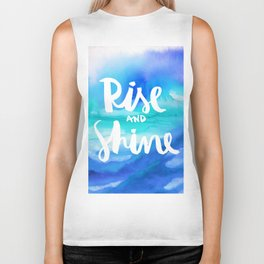 Rise & Shine [Collaboration with Jacqueline Maldonado] Biker Tank