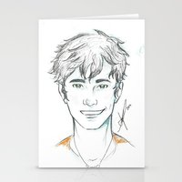 percy jackson Stationery Cards featuring Percy Jackson by Yokimosho