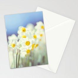 Daffy flowers Stationery Cards