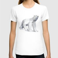 polar bear T-shirts featuring Polar bear by Marta Olga Klara