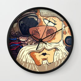 With No Labels Wall Clock