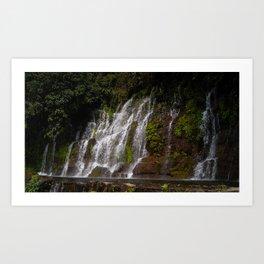 La Calera Waterfalls II Art Print