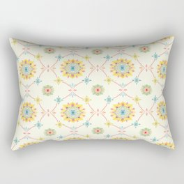 Vintage Peranakan Tiles Rectangular Pillow