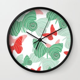 Butterflies- Mariposas Wall Clock