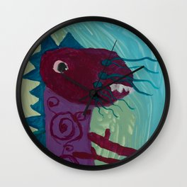 Dragon : Funny creature Series Wall Clock