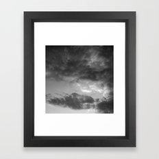 'Clouds 3' Framed Art Print