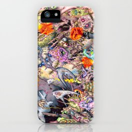 The Litter Bug iPhone Case